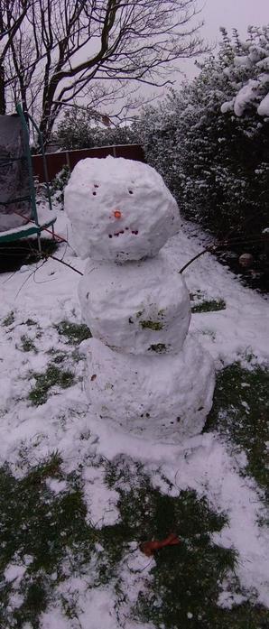 Connor's Snowman