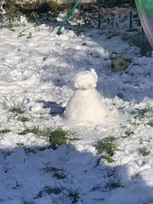 Fletcher and Felicity's Snowman
