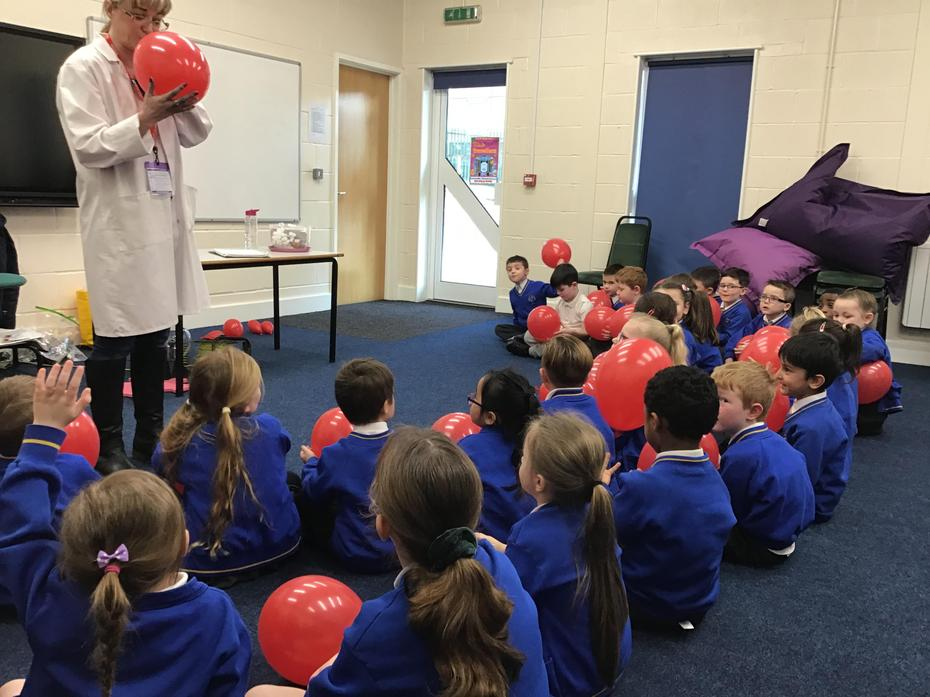 We had fun learning about static electricity.