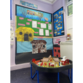 Role play and Small world area.