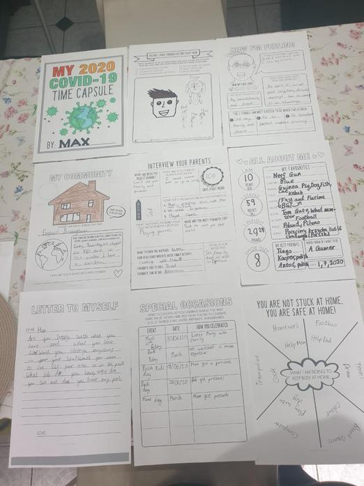 Time capsule by max