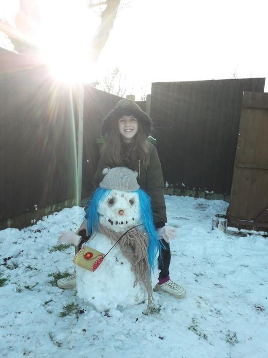 Abi's Snowman