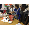 Baking festive biscuits in Year 6