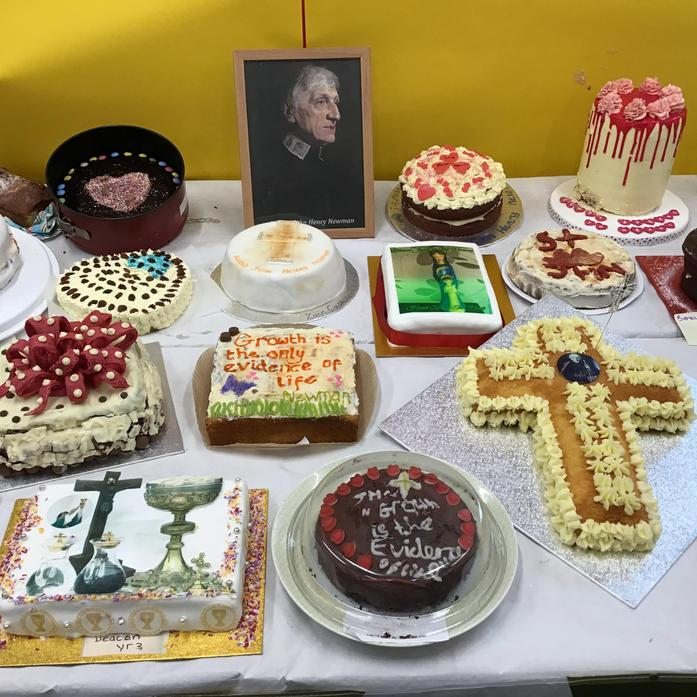 Generous with our baking skills to celebrate St John Henry Newman