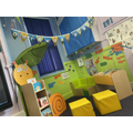 Reading area - the children love quiet time where they can read with their friends.