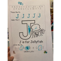 Ethan has been learning all about the letter sound K!