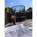 Trampoline Times Tables by James (4P)