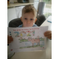 Igor has completed the colouring sheet where you have to colour by number! Well done!