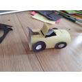 Viki's (4R) 3D model car.