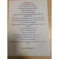 Leaving poem by Kensi (4P)