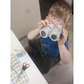 Igor's binoculars are perfect for a bear hunt!