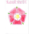 A fab Tudor Rose drawn by Sophie (4R).