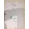 Frankie's drawing of a duck.