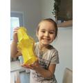 Fantastic Chinese lantern Isabel!