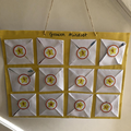 A Growth Mindset calendar made by Finley (4R)