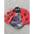 L is for ladybird by Isabel
