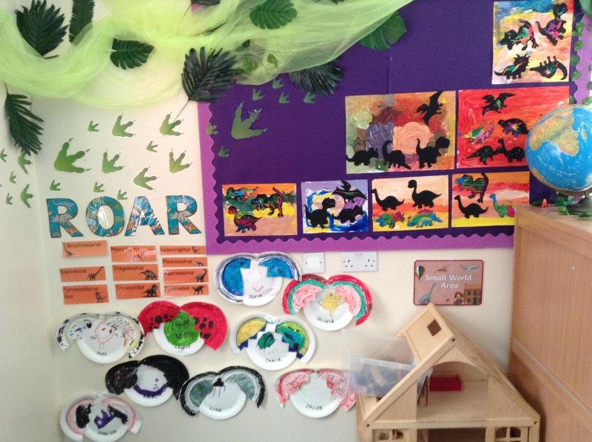 Look at all our amazing artwork!