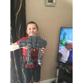 Liam's (4P) amazing Star Wars Lego!