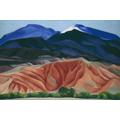 """G. O'Keefe """"Black Mesa Landscape"""" 1930"""