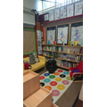Our snuggly library - WE LOVE BOOKS!