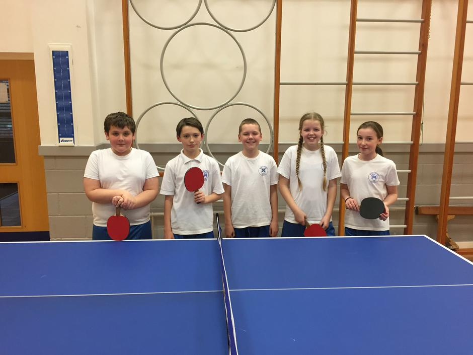 Table tennis champions