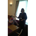 Mrs Wakefield kindly invited us to visit again