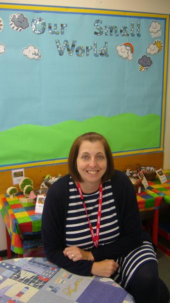Mrs Westbury, Teaching Assistant in F2