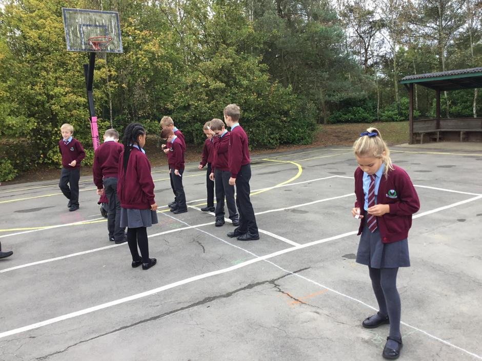 Number Line work in Maths