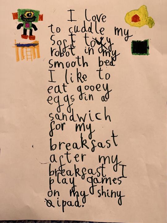 Neat handwriting Derrick.