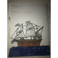 A picture of the Mayflower