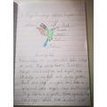 Wow Wiktoria! Super picture and writing.