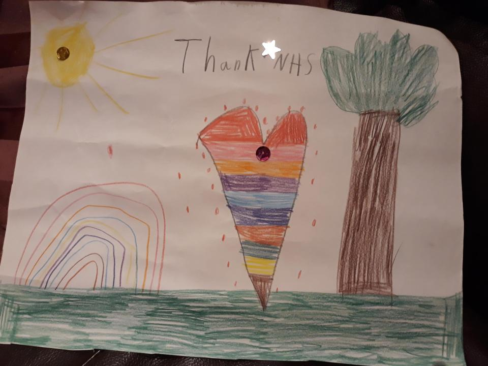 Well done for your thank you poster Lamis!