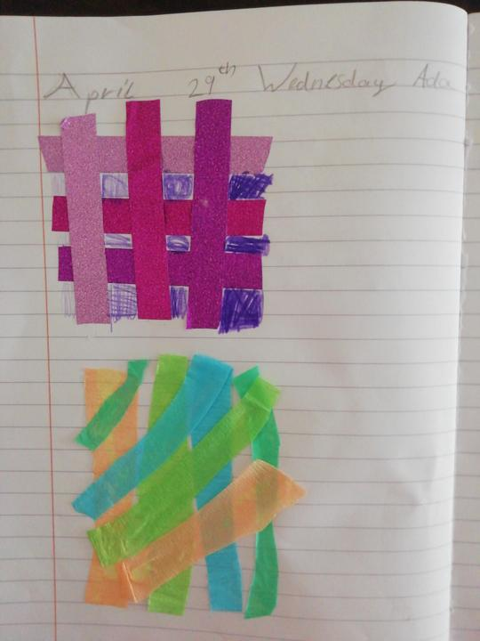 Lovely patterns Ada, very creative!