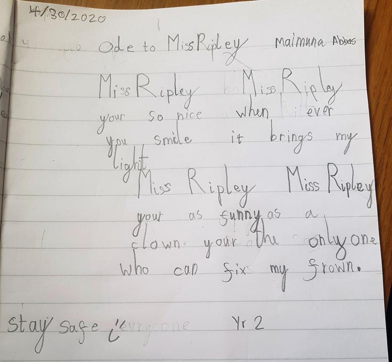 Maimuna -  Miss Ripley LOVES this!