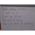 Some of our ideas for a note to Pattan