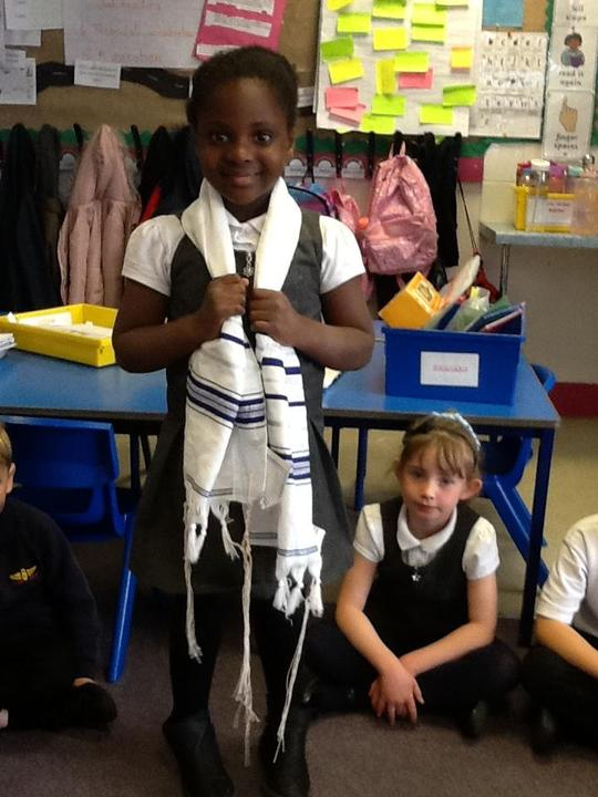The prayer shawl