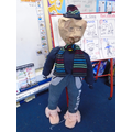 We had lots of fun making a Guy Fawkes today!