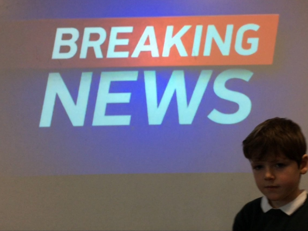 Becoming News Reporters
