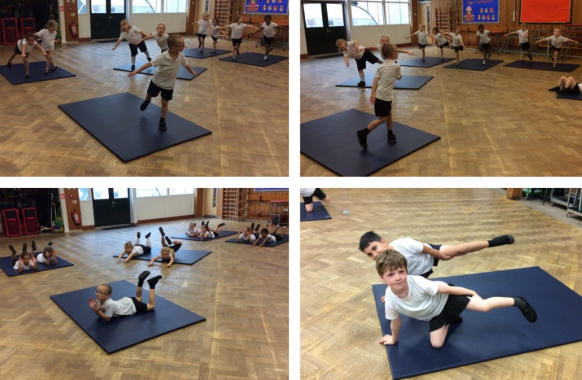 Practising Gymnastic Skills