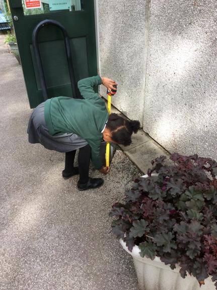Using measuring equipment