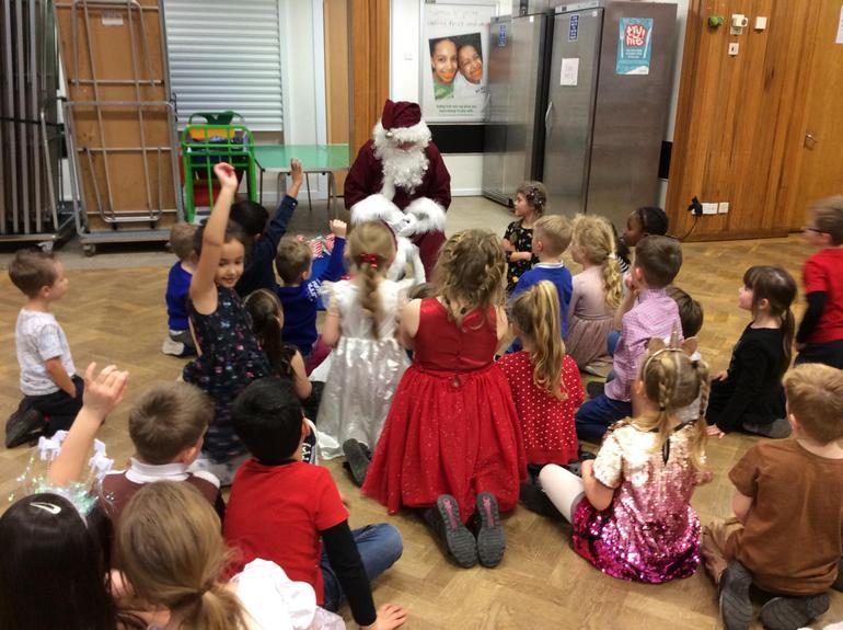 Santa's Surprise Visit