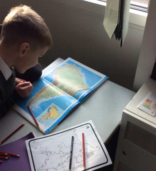 During our Geography lessons we explored the locations of Rainforests.