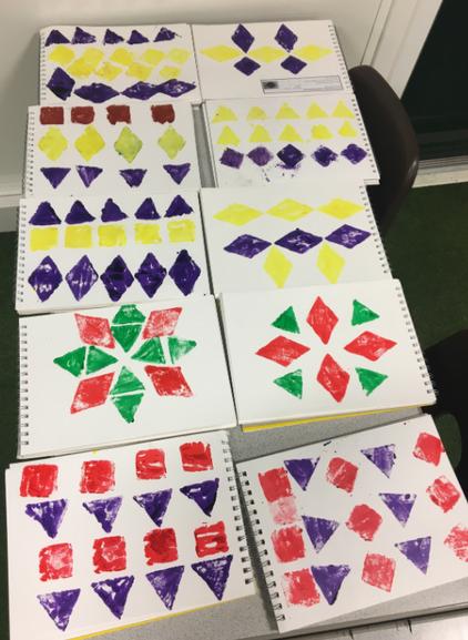 Symmetrical Shape Patterns