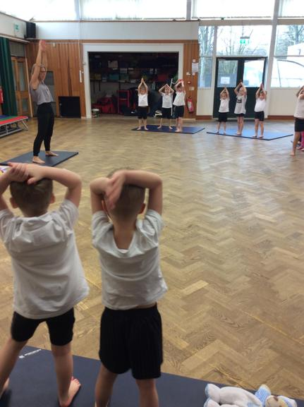Yogabugs with Miss Keith
