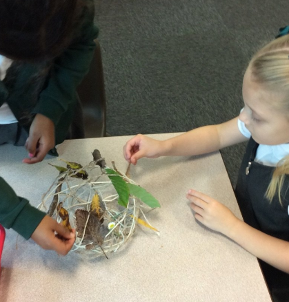 Creating Artwork in the Style of Andy Goldsworthy