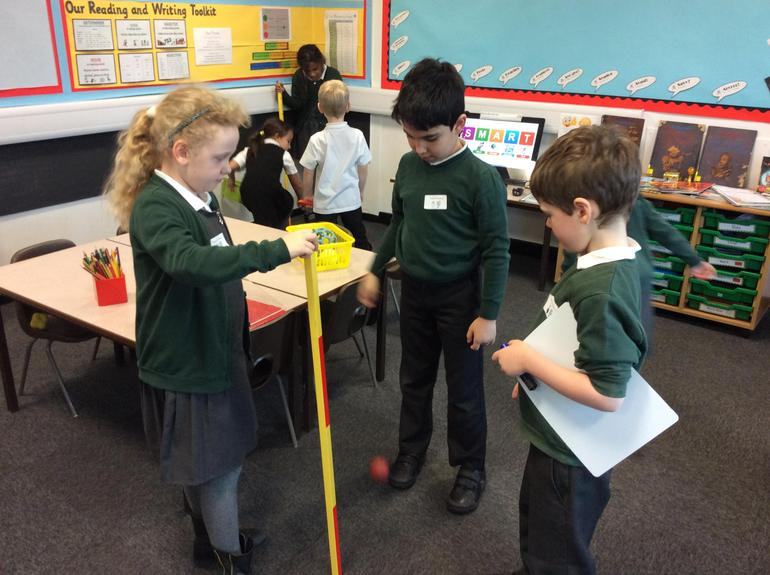 Investigating which is the bounciest ball