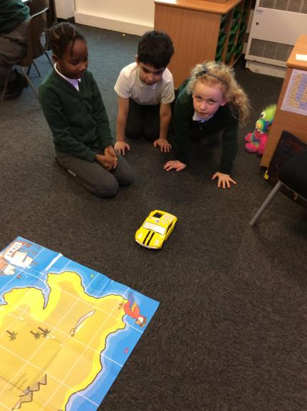 Programming a Beebot