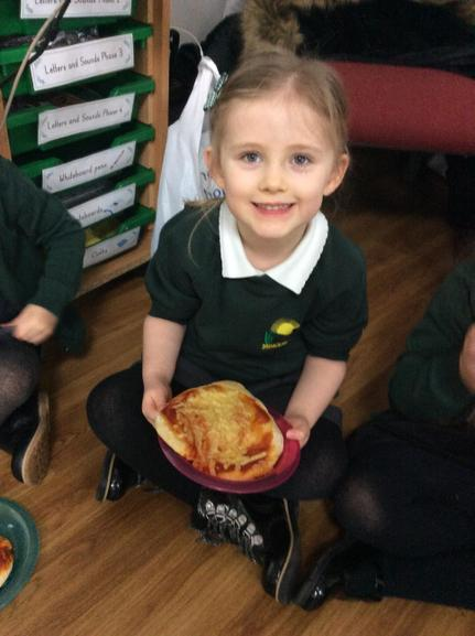 Tasting our own pizza!