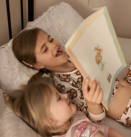 Isla and Georgie's Bedtime Story