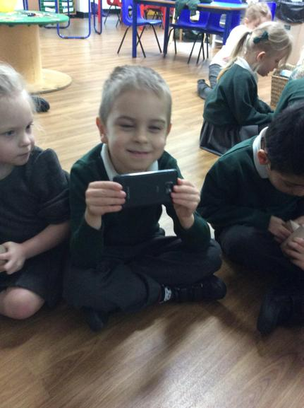 Finding shapes in the classroom